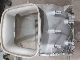 46197309022 Полубак для стиральной машины Whirlpool  Б/У