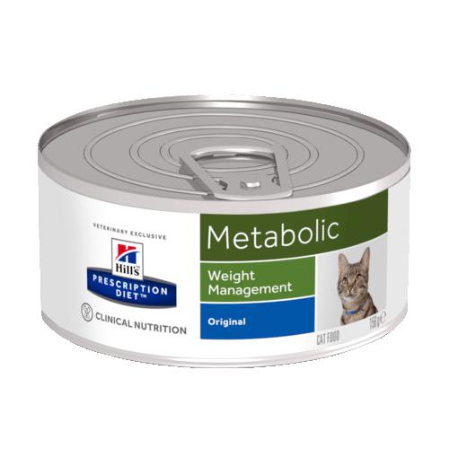 Консервы Hill's prescription Diet Metabolic Feline для улучшения метаболизма (коррекции веса) у кошек 156 гр