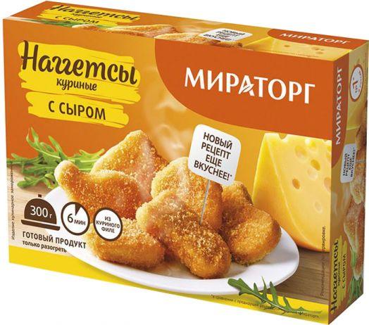 Наггетсы куриные с сыром 300г Мираторг