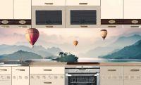 Фартук для кухни - Воздухоплаватели | интерьерные наклейки