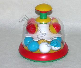 Юла карусель с шариками, пакет