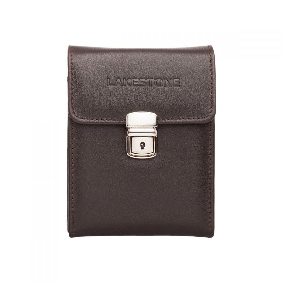 Небольшая кожаная сумка для документов Lakestone Tormarton Brown