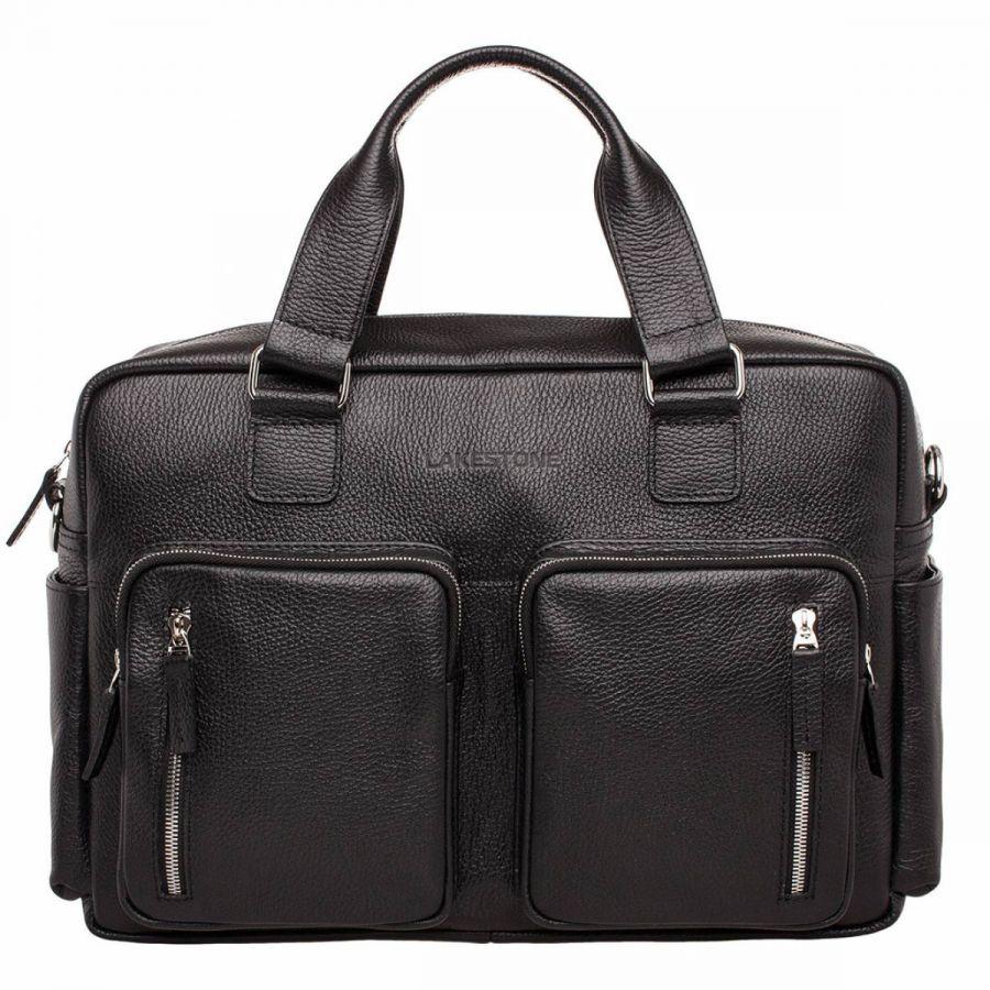 Деловая сумка Lakestone большого объема Kingston Black