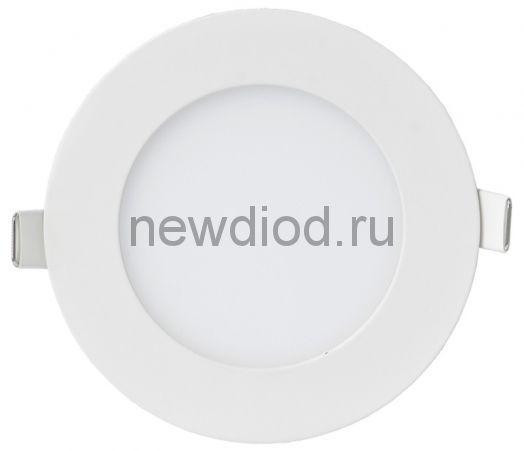 Панель сд круглая RLP-VC 9Вт 230В 4000К 630Лм 118мм белая IP40 IN HOME