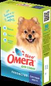 """Омега Neo Мультивитаминное лакомство  для собак """"Блестящая шерсть"""" (90 табл.)"""