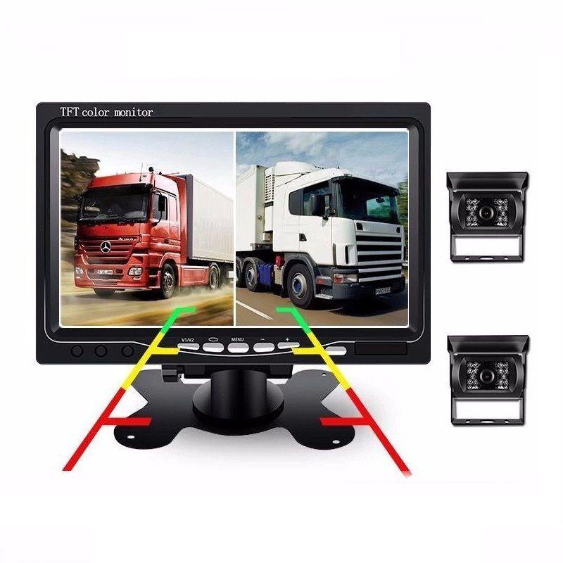 Камеры заднего вида для грузовика с монитором 7 дюймов (PZ602)