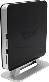 Неттоп 3Q Qoo! 3Q Nettop Shell Black (Celeron 847 1.1 GHz/2*SO-DIMM DDR3/no HDD/Intel GMA 3600/Wi-Fi/HDMI/VGA/USB) RET