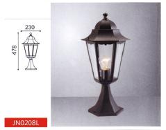 Парковый уличный светильник, >100W, е27, IP44