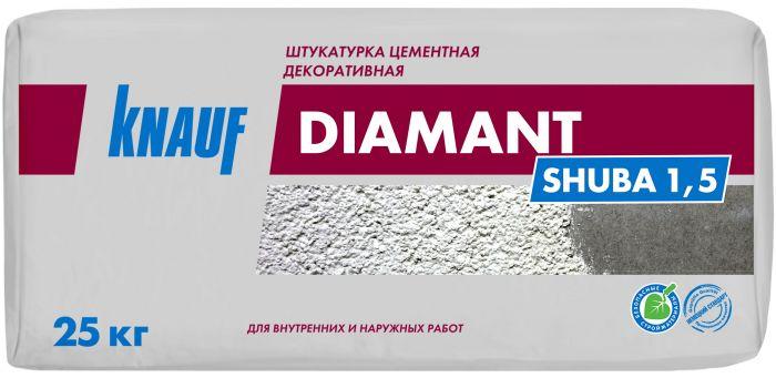 Штукатурка цементная декоративная Knauf Диамант, 25 кг