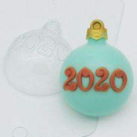 """Форма для мыла и шоколада """"Шар / 2020"""""""