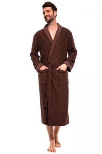 Халат облегченный махровый из бамбука Organique Bamboo шоколад
