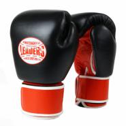 Перчатки боксерские LEADERS THAI SERIES TS3S BK/RD