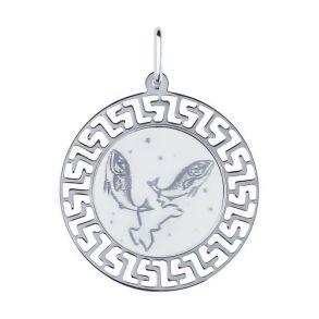 Подвеска «Знак зодиака Рыбы» 94100016 SOKOLOV