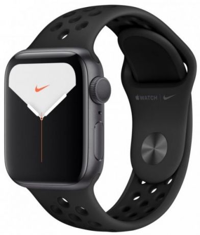 Apple Watch Nike Series 5 Space Gray Aluminum Case 44mm GPS Anthracite/Black with Nike Sport Band