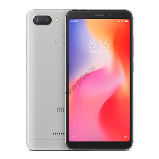 Смартфон Xiaomi Redmi 6 3/32Gb Gray (Global Version)