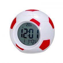 Настольные говорящие часы Футбольный мяч Atima AT-609TI,(цвет красный)