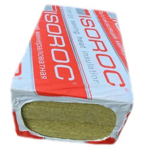 Утеплитель Isoroc Изоруф (ПП-130) 1000х600х100 мм 2 плиты в упаковке