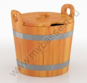 Запарник для бани (с крышкой)