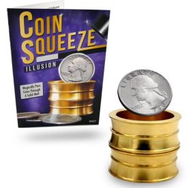 Монетный туннель - Coin Squeeze Illusion (1/4 Dollar)