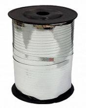 Лента серебро металл (Радуга),  (0,5см*250м)