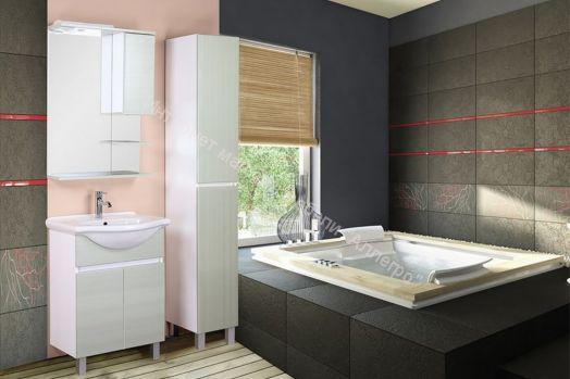 """Комплект мебели для ванной комнаты """"Дели Олива"""""""