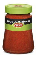 Соус томатный калабрезе с острым перцем 290 гр., Sugo alla Calabrese con peperoncino D'Amico 290 gr.