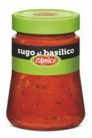 Соус томатный с базиликом 290 г, Sugo al basilico D'Amico 290 gr