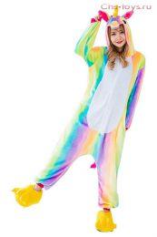 Кигуруми пижама Единорог Радужный