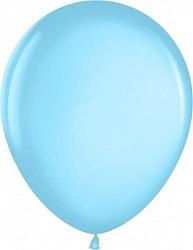 "Шар (12""/ 30 см, голубая лазурь, металлик, 100 шт"