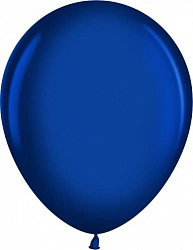 "Шар (12""/ 30 см, синий сапфир, металлик, 100 шт"