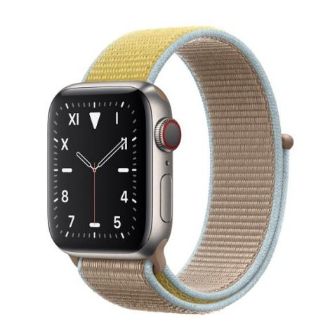Apple Watch Edition Series 5 Titanium Case 44mm GPS + Cellular Camel with Sport Loop