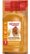 """Mr. Bruno Шампунь-кондиционер для густой и сильно загрязненной шерсти """"Пушистое облако"""", 350 мл"""