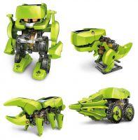 Робот-Динозавр Solar Robot 4в1 на солнечной батарее