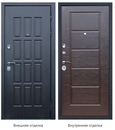 Стальная дверь «Фортуна»  (заказная)