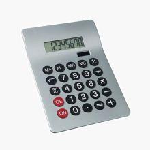 Настольный 8-разрядный калькулятор с двойным питанием United Office