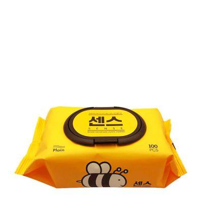 Secret Day Sence Влажные салфетки с экстрактом алоэ вера и мёда