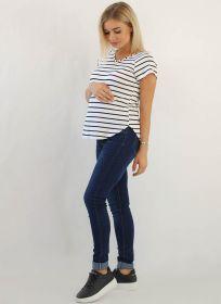 Джинсы для беременных 1А05