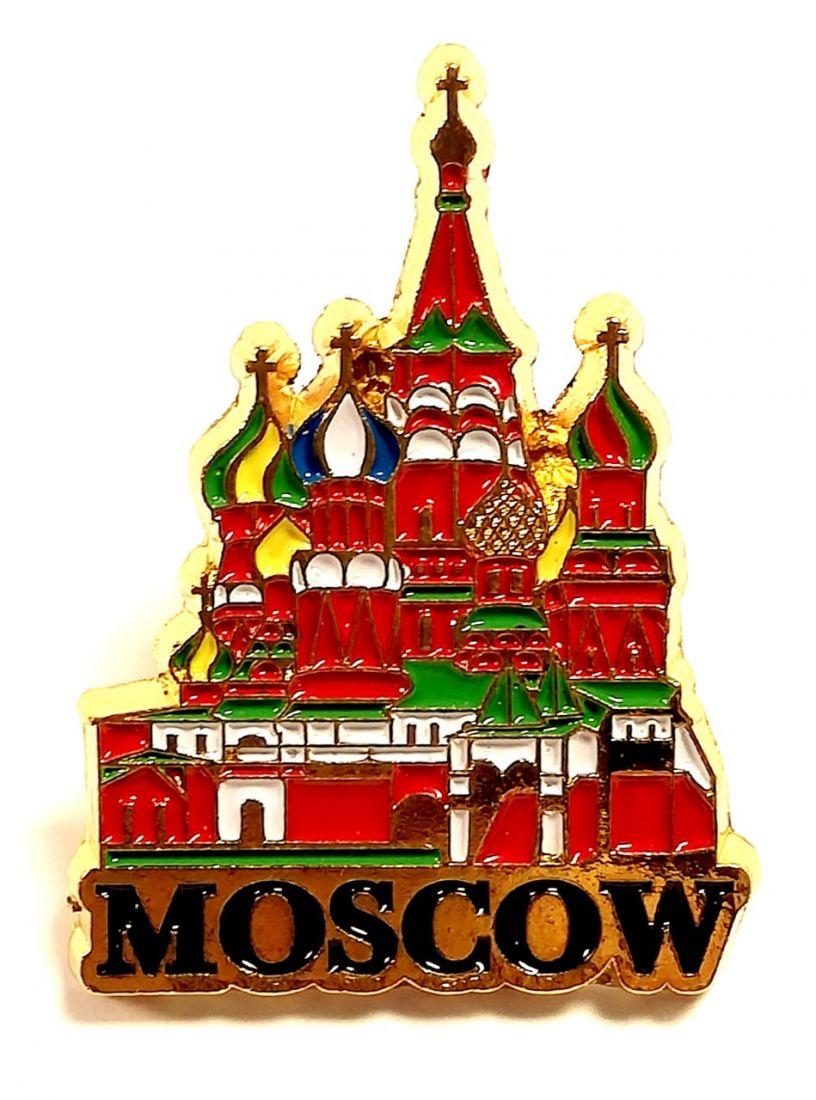 Значок пин Собор Василия Блаженного