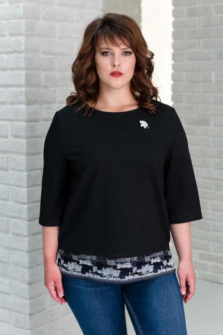 Блуза женская арт.0096, футер