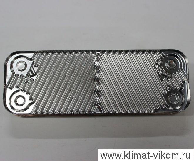 Теплообменник ГВС пластинчатый вторичный на 10 пластин арт. 5686660