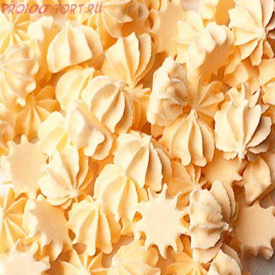 Украшение сахарное Мини-безе (персиковые) 50гр.