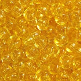 Бисер чешский 01181 светло-желтый прозрачный кристальный Preciosa 1 сорт