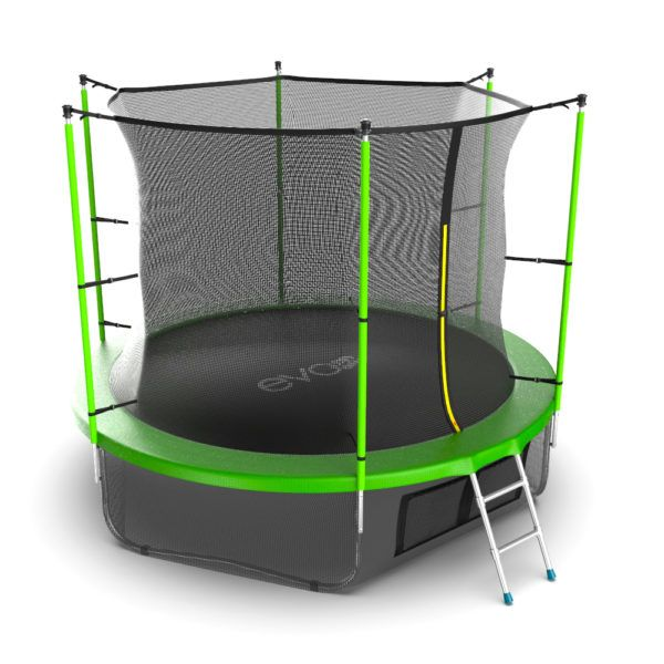 EVO JUMP Internal 10ft (Green) + Lower net