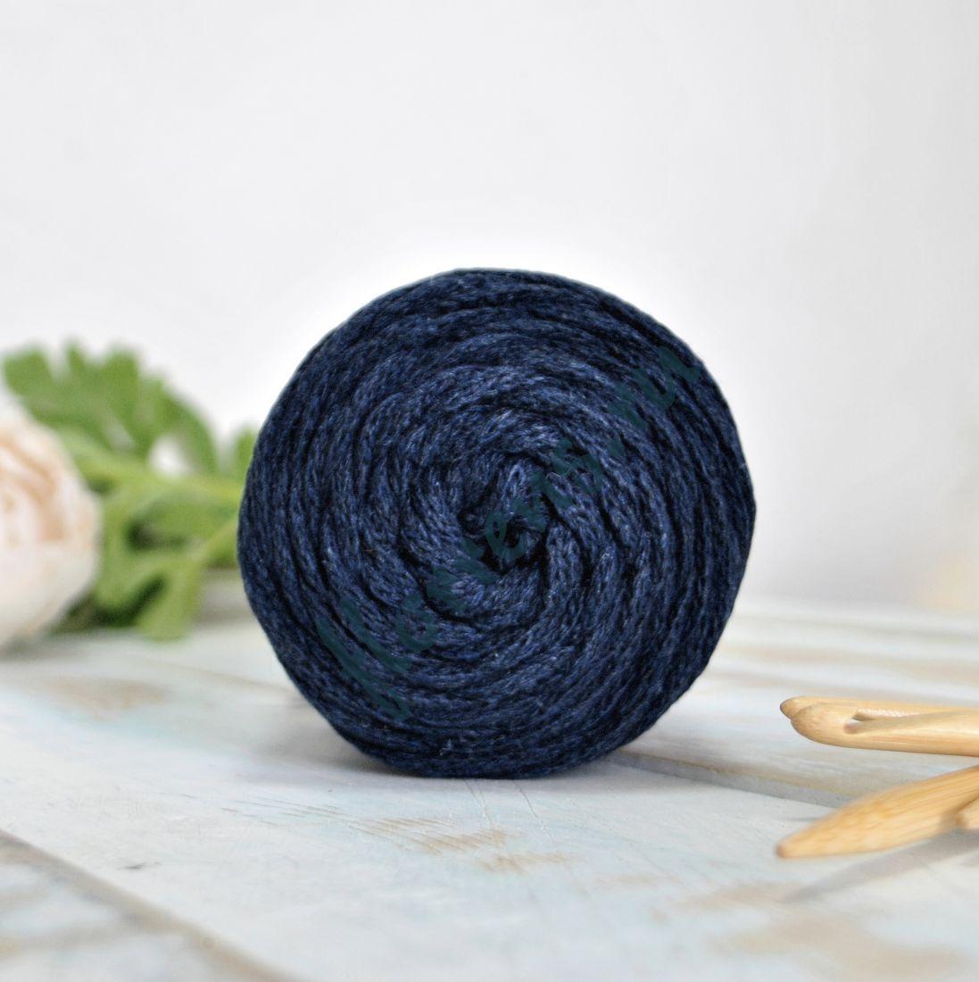Шнур для вязания / т. синий