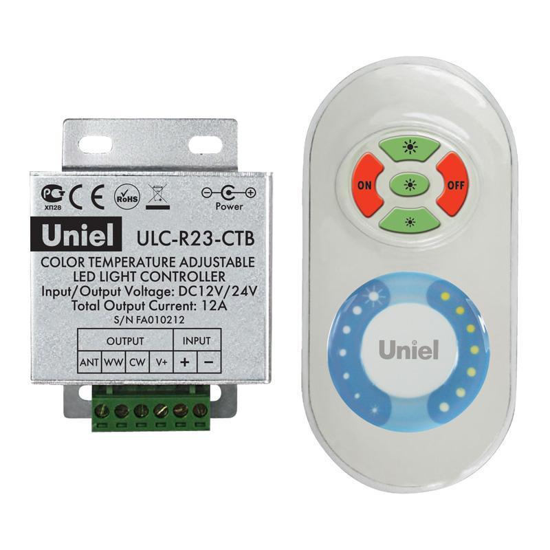 Контроллер для управления мультибелыми светодиодами с пультом ДУ (05949) ULC-R23-CTB White