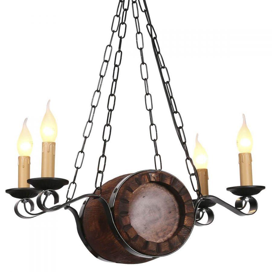 Потолочный светильник Дубравия Бочонок 187-64-14