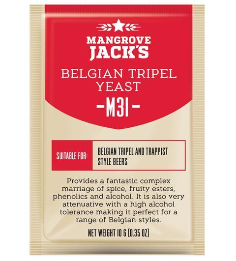 "Пивные дрожжи Mangrove Jack's ""Belgian Tripel M31"", 10 г"