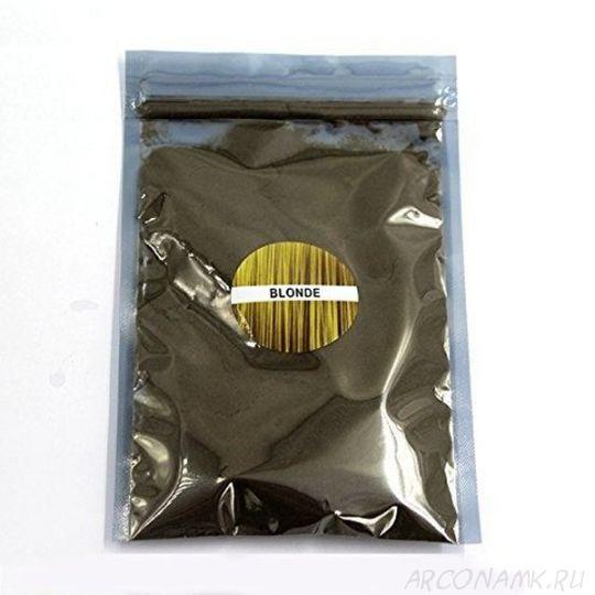 Загуститель для волос в пакетиках KeraLux (30гр.), Medium Blonde (Светлый)