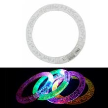 Светящиеся браслеты, 1 шт., Белый