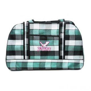 Дорожная сумка Саквояж, 44х28х14 см, Цвет: Зелёный